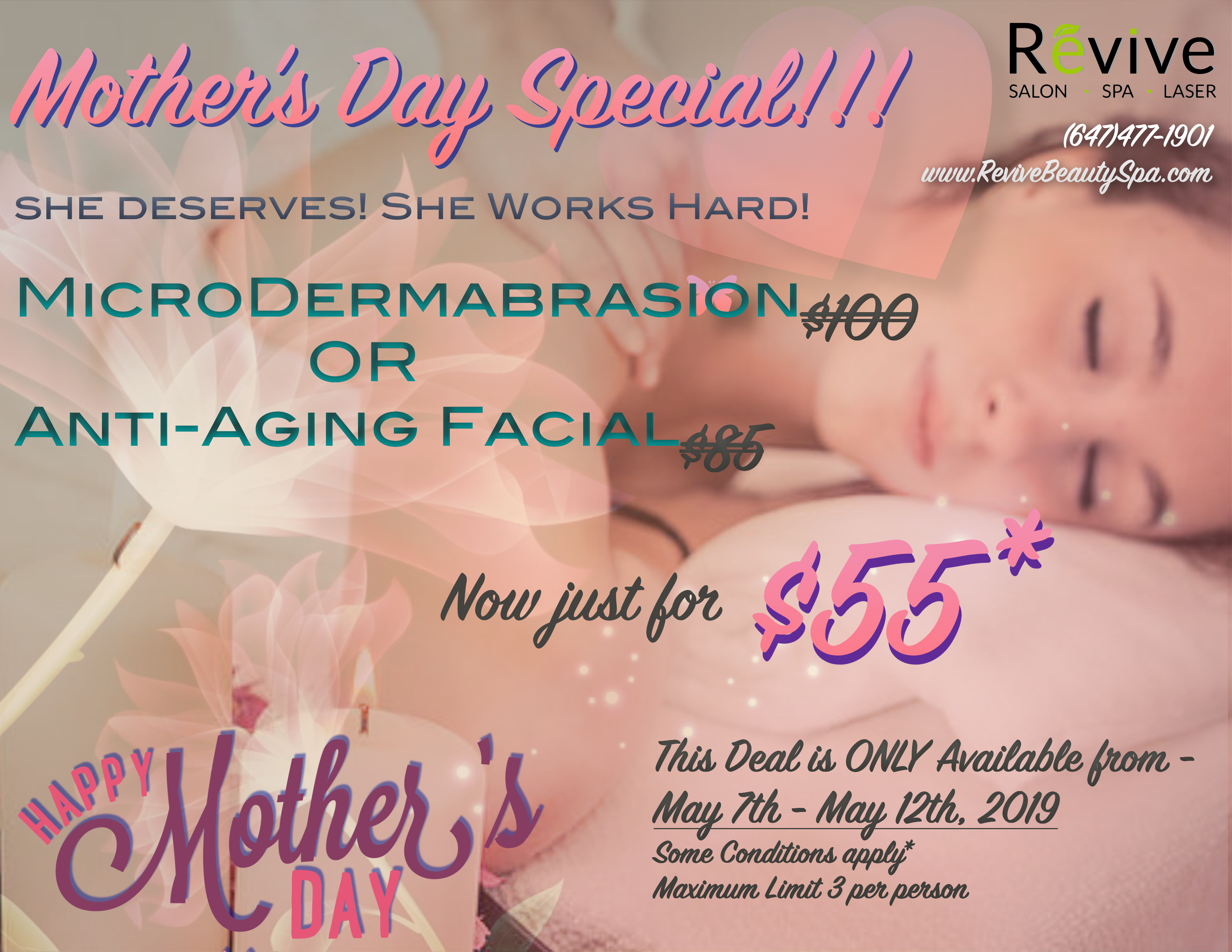 Revive Mother's Day Special Promotion